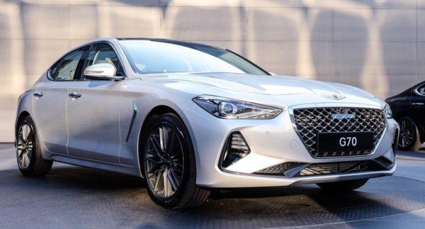 Genesis G70 1 600x323 at 2018 Genesis G70 Sports Sedan Revealed