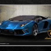 Lamborghini 1280x1024 Blue 175x175 at Car Brands HD Wallpapers   by Motorward