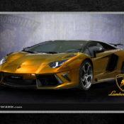 Lamborghini 1280x1024 Golden 175x175 at Car Brands HD Wallpapers   by Motorward