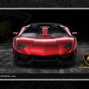 Lamborghini 1280x1024 Red Front 175x175 at Car Brands HD Wallpapers   by Motorward