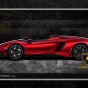 Lamborghini 1280x1024 Red Side 175x175 at Car Brands HD Wallpapers   by Motorward
