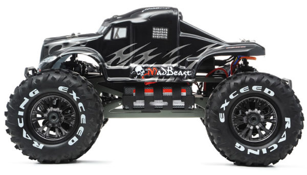 MadBeast BlackSilver Brushless 600x343 at Monster Trucks   Passion for Off Road Adventure
