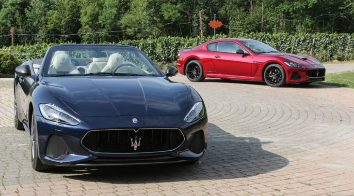 Maserati GranCabrio Sport MY18 and GranTurismo MC MY18 730x406 at 2018 Maserati GranTurismo and GranCabrio Launch in UK
