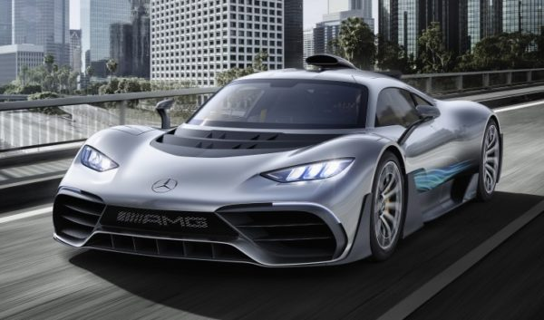Mercedes AMG Project ONE hd 600x353 at AMG Teases Cigarette Racing 515 Project ONE Speedboat