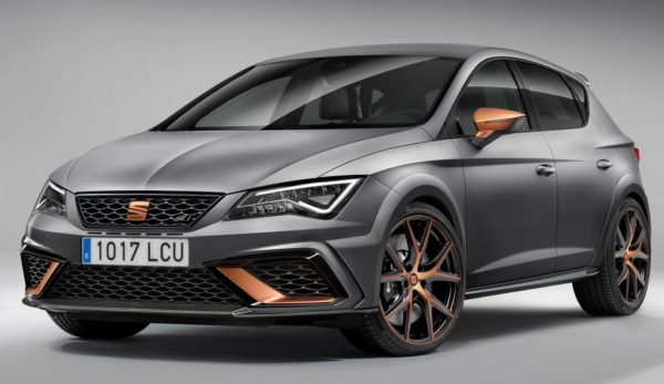 Seat Leon Cupra R IAA 1 600x347 at 2018 SEAT Leon Cupra R Set for IAA Debut