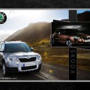 Skoda 1280x1024 175x175 at Car Brands HD Wallpapers   by Motorward
