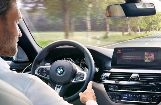 bmw alexa 1 550x360 at Amazon Alexa to Be Featured in All BMW and MINI Models from Mid 2018