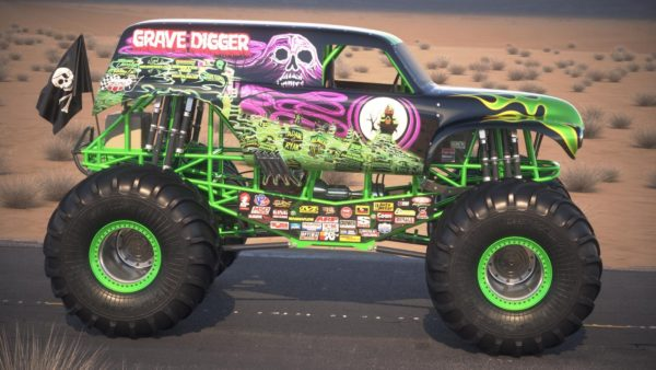 grave digger monster truck 600x338 at Monster Trucks   Passion for Off Road Adventure