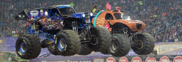 monster trucks show 600x206 at Monster Trucks   Passion for Off Road Adventure