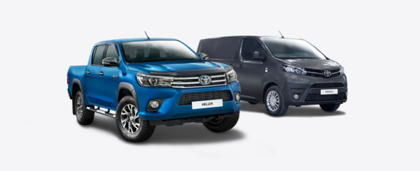 toyota commercial vehicle 600x245 at Selecting the Right Commercial Vehicle for Your Business