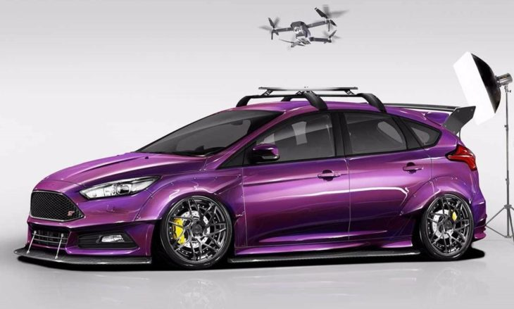 2017 Ford Focus ST created by Blood Type Racing top 730x439 at SEMA 2017: Ford Focus ST by Blood Type Racing