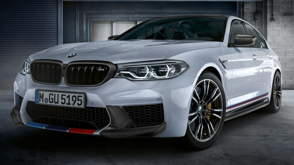 2018 bmw m5 m performance parts is for m geeks