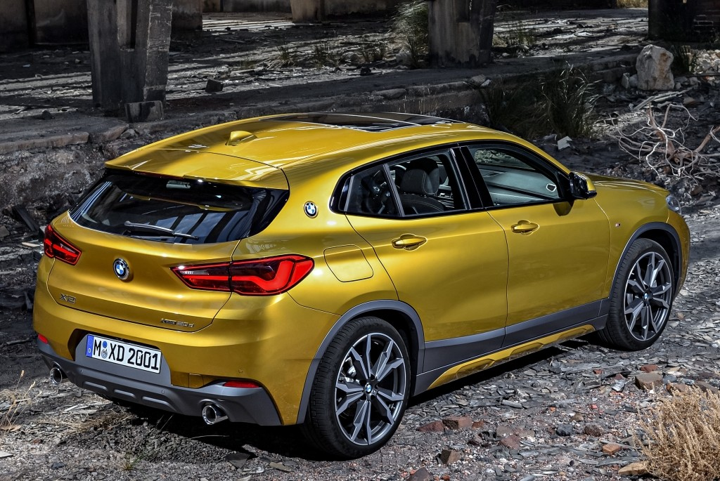 2018 Bmw X2 Compact Crossover Goes Official