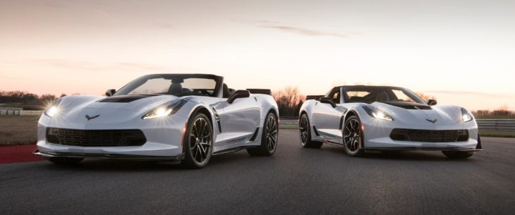 2018 Chevrolet Corvette Carbon65 Edition 001 730x305 at 2018 Corvette Carbon 65 Edition Debuts at SEMA