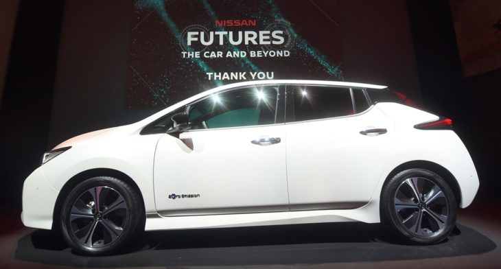 426206415 Nissan unveils electric ecosystem at Nissan Futures 3 0 730x392 at 2018 Nissan LEAF Makes European Debut at Futures 3.0 Conference