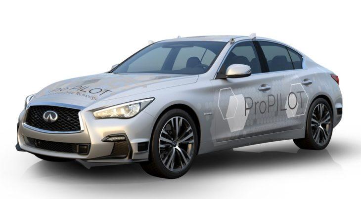 Autonomous Infiniti Q50 1 730x403 at Nissan Testing Next Gen ProPILOT with Autonomous Infiniti Q50