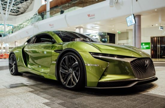 DS E Tense at DS Urban Store in Westfield London 8080 550x360 at DS E Tense Makes UK Debut Inside Shopping Center