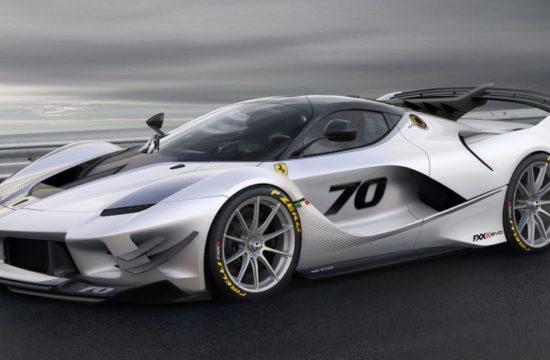 FXX k EVO 1 550x360 at Ferrari FXX K Evo Revealed with Copious Downforce