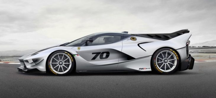FXX k EVO 19 730x332 at Ferrari FXX K Evo Revealed with Copious Downforce