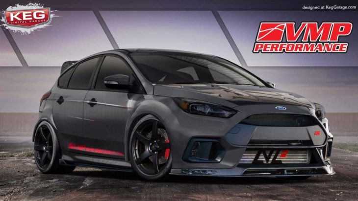 Ford Focus RS TriAthlete by VMP Performance 1 730x411 at SEMA 2017: Ford Focus RS TriAthlete by VMP Performance