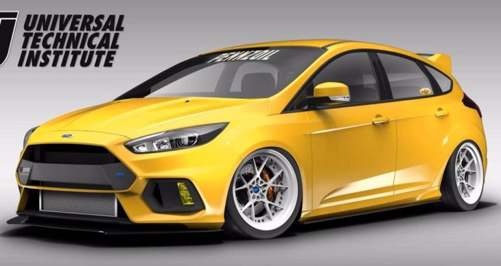 Ford Focus RS by Pennzoil 2 730x388 at SEMA 2017: Ford Focus RS by UTI, Tjin, and Pennzoil