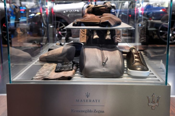 FrankfurtMotorShow2017 MaseratiCapsuleCollectionbyErmenegildoZegna 730x486 at Ermenegildo Zegna Presents 2018 Maserati Capsule Collection