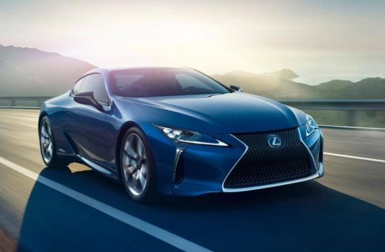 Lexus LC Structural Blue Edition 1 550x360 at Lexus LC Structural Blue Edition Has a Shimmering Shade