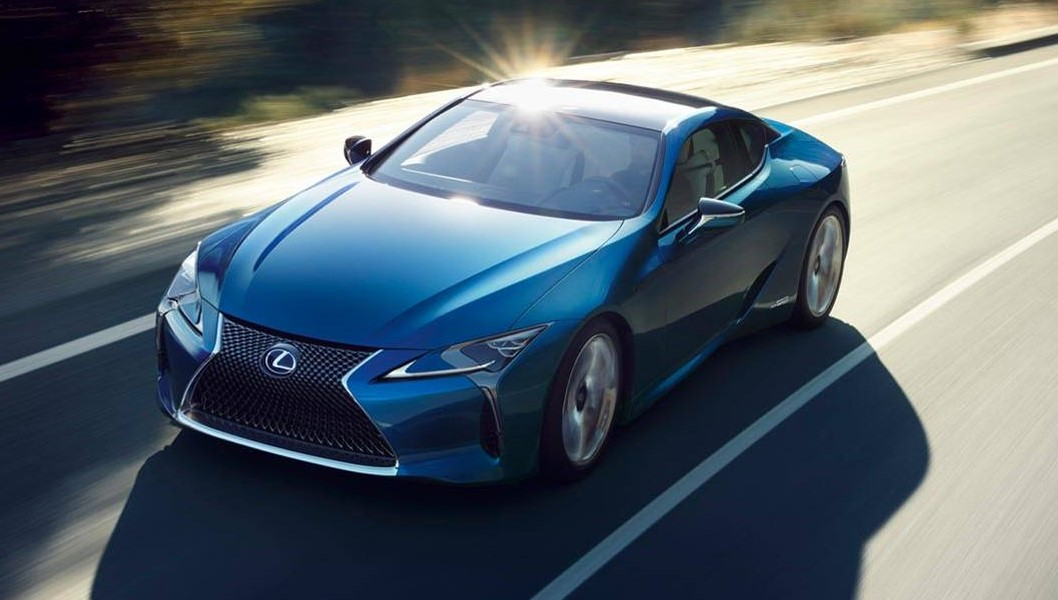 Lexus Lc Structural Blue Edition Has A Shimmering Shade