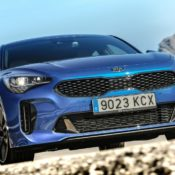 Micro Blue Kia Stinger 2 175x175 at 2018 Kia Stinger Looks Spectacular in Micro Blue