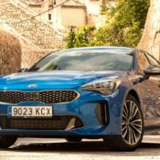 Micro Blue Kia Stinger 5 175x175 at 2018 Kia Stinger Looks Spectacular in Micro Blue