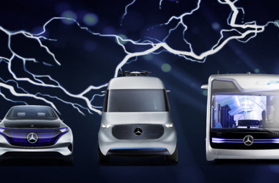 mercedes benz electric models 1 550x360 at Mercedes Benz to Launch 10 Electric Models by 2022