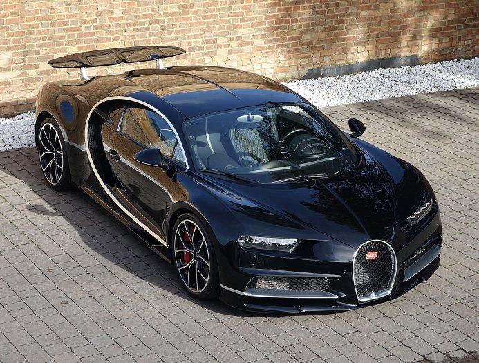 Hyper Sport 2017 >> Nocturne Black Bugatti Chiron on Sale at Romans