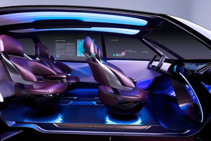 toyota fine comfort ride 2 730x487 at Tokyo 2017: Toyota Fine Comfort Ride Fuel Cell Concept