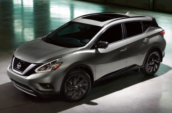 2017 Nissan Murano Midnight Edition 01 550x360 at 2018 Nissan Murano Pricing & Specs
