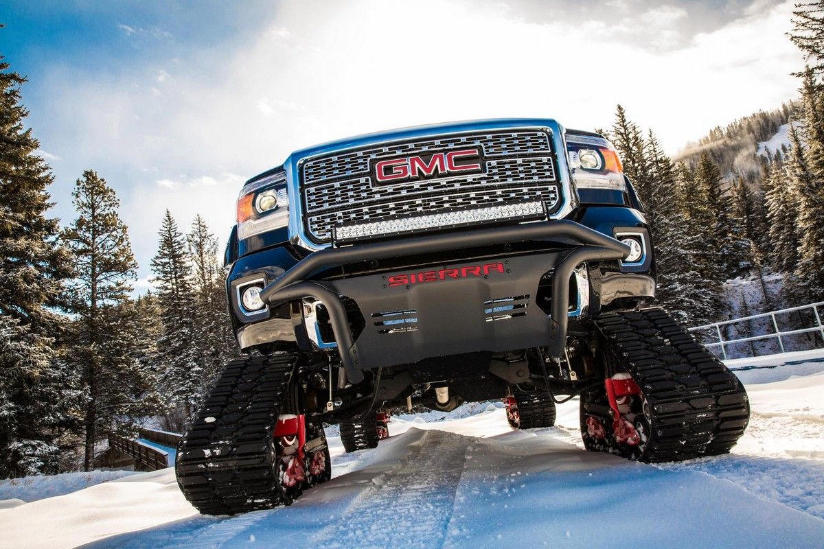 Diesel Trucks For Sale >> 2018 GMC Sierra 2500HD All Mountain Is the King of Slopes