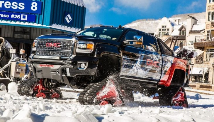2018 GMC Sierra 2500HD All Mountain 8 730x419 at 2018 GMC Sierra 2500HD All Mountain Is the King of Slopes