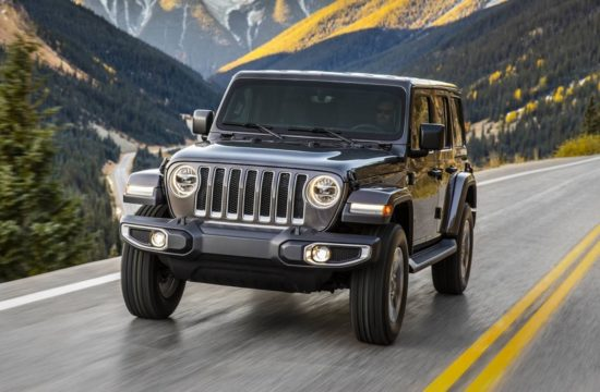 2018 Jeep Wrangler 1 550x360 at 2018 Jeep Wrangler Goes Turbo in Los Angeles
