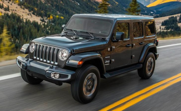 2018 Jeep Wrangler 2 730x449 at 2018 Jeep Wrangler Goes Turbo in Los Angeles
