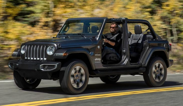 2018 Jeep Wrangler 5 730x423 at 2018 Jeep Wrangler Goes Turbo in Los Angeles
