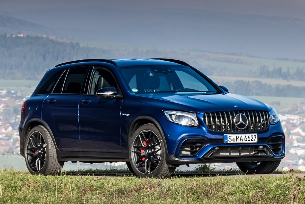 2018 mercedes amg glc 63 4matic suv and coupe in detail. Black Bedroom Furniture Sets. Home Design Ideas
