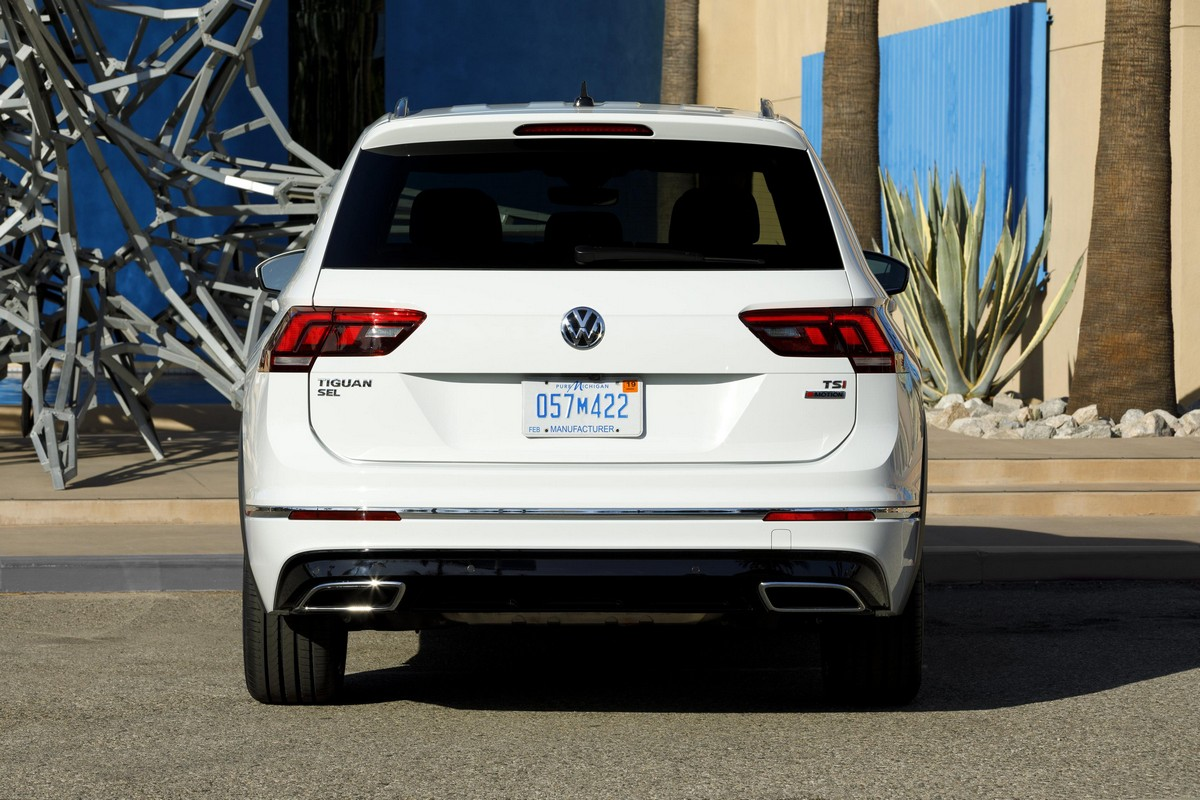 2018 Vw Tiguan R Line Launches In America