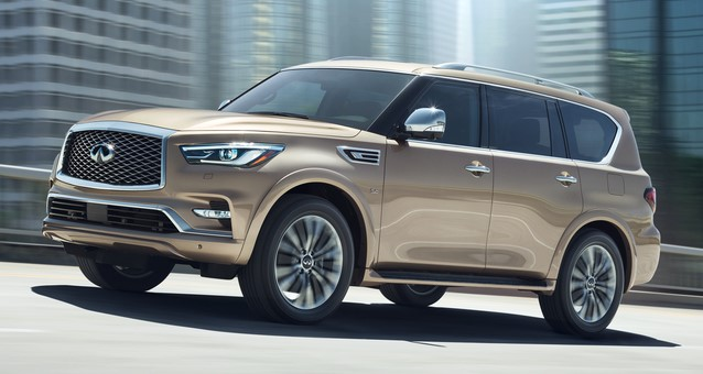 2018 INFINITI QX80   Photo 011 at 2018 Infiniti QX80 Full Size SUV Priced from $64,750
