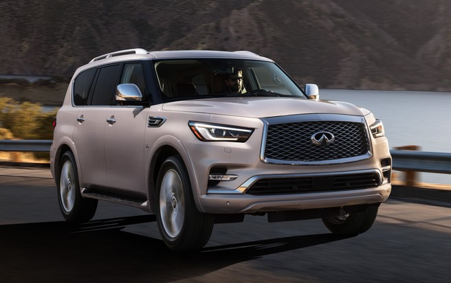 2018 INFINITI QX80   Photo 06 at 2018 Infiniti QX80 Full Size SUV Priced from $64,750