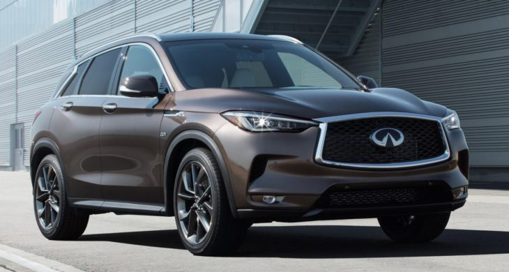 2019 Infiniti QX50 1 730x390 at 2019 Infiniti QX50 Revealed with VC Turbo Engine