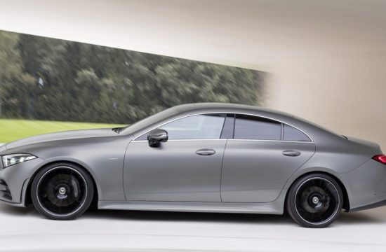 2019 Mercedes CLS Official 1 550x360 at 2019 Mercedes CLS Facelift Unveiled in Los Angeles