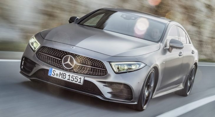 2019 Mercedes CLS Official 3 730x397 at 2019 Mercedes CLS Facelift Unveiled in Los Angeles