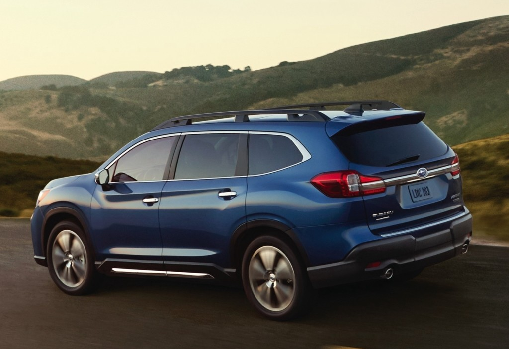 2019 subaru ascent 8 seater suv officially unveiled for Honda large suv