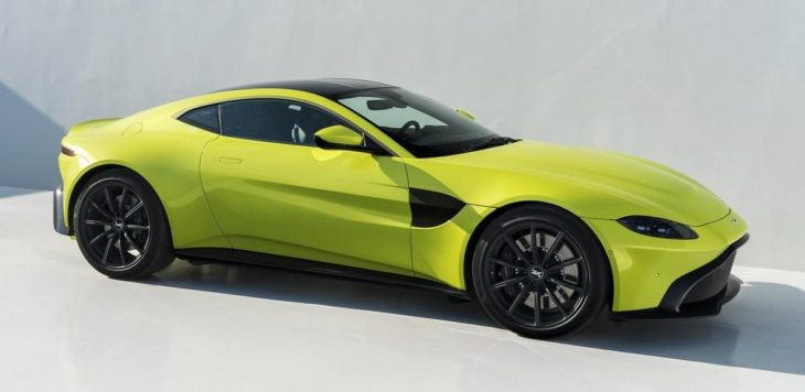 Aston Martin Vantage Lime Essence 10 730x356 at 2018 Aston Martin Vantage Revealed, Looks Weird