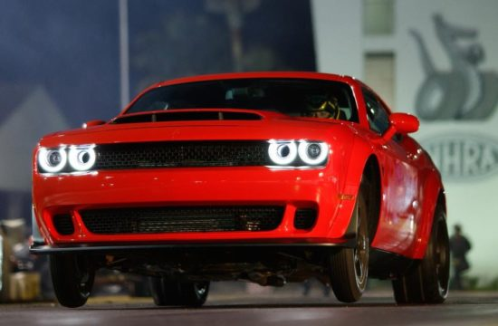 Dodge Challenger SRT Demon Launch 550x360 at 2018 Dodge Challenger SRT Demon Shipping Commences