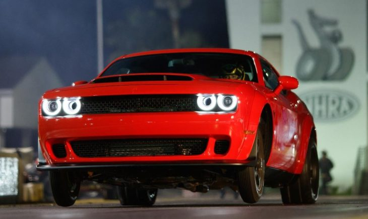 Dodge Challenger SRT Demon Launch 730x435 at 2018 Dodge Challenger SRT Demon Shipping Commences